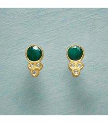 sundance catalog women's touch of green earrings