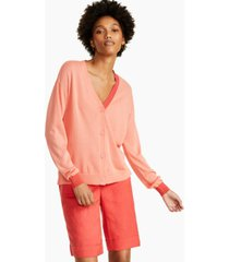 alfani colorblocked button cardigan, created for macy's