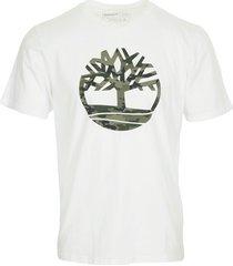 t-shirt korte mouw timberland kennebec river camo t-shirt