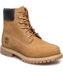 6in premium boot - w shoes boots ankle boots ankle boots flat heel brun timberland