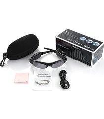 hbs360 gafas de sol con videocámara multifunción auriculares gafas de