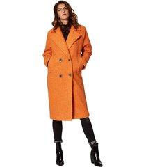 circle of trust freya coat corrot oranje