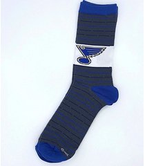 st louis blues nhl thin unisex dress socks