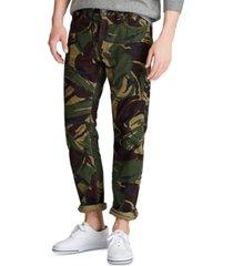 polo ralph lauren men's camo stretch cord five-pocket pants