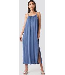 mango cubi dress - blue