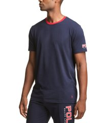 polo ralph lauren men's cotton ringer pajama t-shirt
