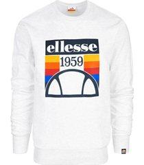 ellesse men's fleece logo sweatshirt