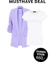 musthave deal simple things blazer lila