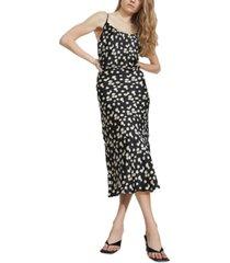 bardot daisy slip dress