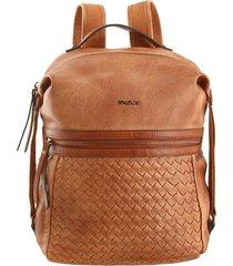 mochila marrón fagus
