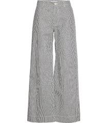 allie trousers 13158 vida byxor grå samsøe samsøe