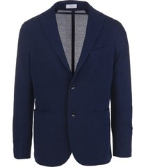 unlined two-button jacket
