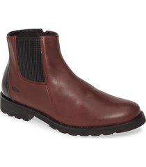 cloud phad bootie, size 9us in bordeaux leather at nordstrom