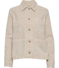 chore jacket jeansjack denimjack beige gap