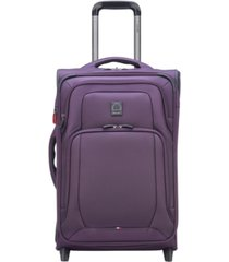 """delsey optimax lite 21"""" expandable 2-wheel carry-on suitcase, created for macy's"""