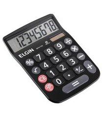 calculadora de mesa elgin mv4133 12 dígitos visor lcd preta