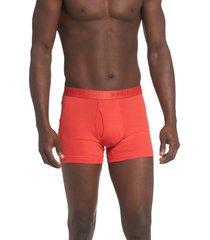 men's 2(x)ist 3-pack cotton boxer briefs, size x-large - black