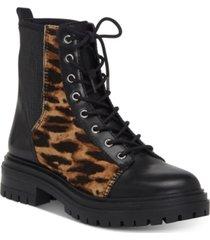 vince camuto bestenda combat booties women's shoes