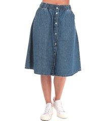 womens lightweight midi skirt