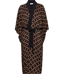 kimonah. morgonrock brun by malene birger