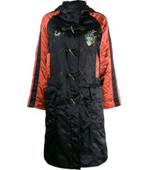 jean paul gaultier pre-owned 1990's diamond quilted hooded coat -