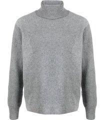 maison kitsuné sweater w/ribs