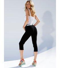 capri-jeans amy vermont zwart