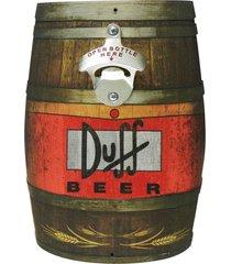 abridor de garrafa barril duff kasa ideia - multicolorido - dafiti