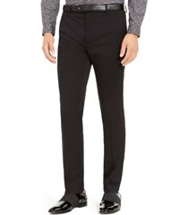 inc men's slim-fit stretch twill pants, created for macy's