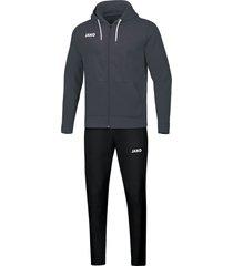 jako joggingpak base jas met kap m9665-21