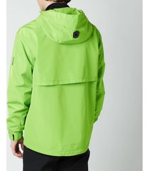 mackage men's bernie hooded jacket - light green - xl