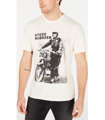 barbour international steve mcqueen men's stand and ride t-shirt, created for macy's