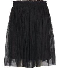 midi tulle skirt kort kjol svart cathrine hammel