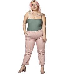 pantalón boyfriend femenino palo de rosa pretty much