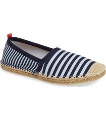 women's sea star beachwear beachcomber espadrille water shoe, size 7 m - blue