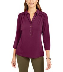 charter club knit polo shirt, created for macy's
