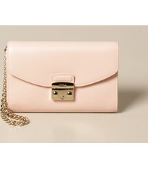 furla clutch metropolis furla bag in grained leather