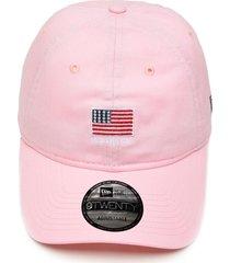 boné new era strapback mini flag rosa - kanui