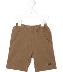 familiar casual shorts - brown