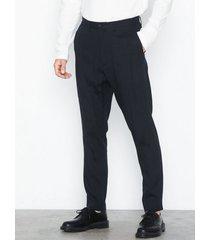 hope kris suit trouser byxor dark blue