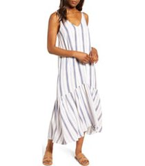 women's gibson x the motherchic summer nights maxi dress, size x-large - white