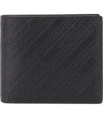 givenchy logo print wallet - black