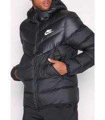 nike sportswear m nsw dwn fill wr jkt hd jackor black