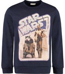 etro etro x star wars cotton sweatshirt