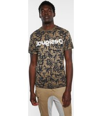 basic t-shirt nature - brown - xxl