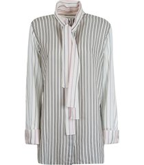j.w. anderson striped shirt