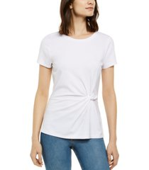 inc ponte-knit twist top, created for macy's