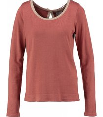 vero moda zachte trui strikjes achter