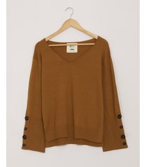 sweater camel system buttons covent