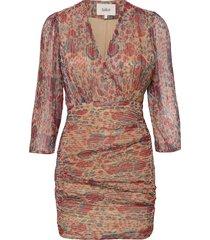 amelia dress kort klänning multi/mönstrad ba&sh
